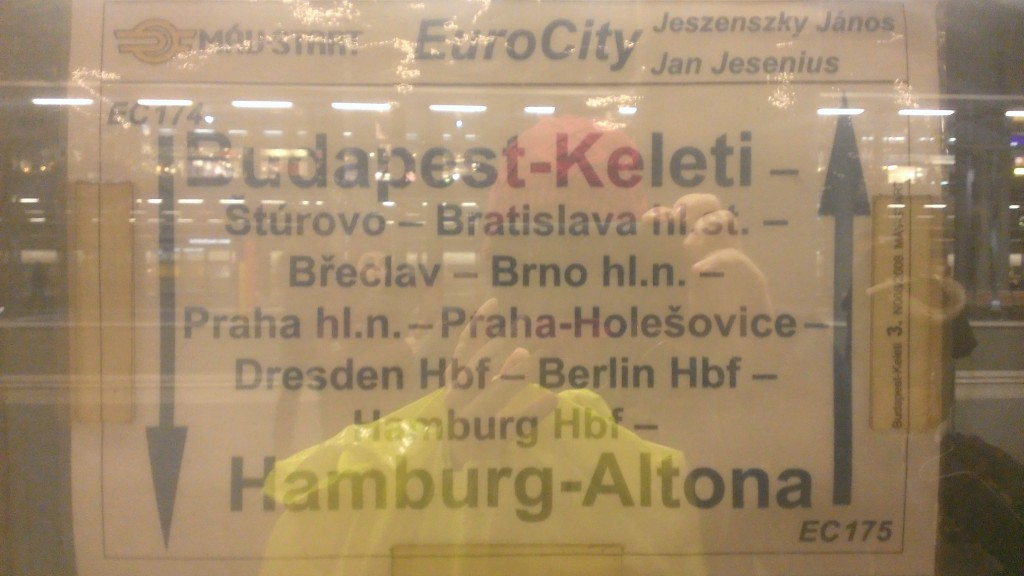 Budapeşte Hamburg tren