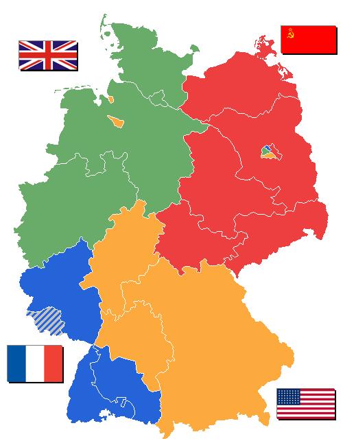 2. dünya savaşı sonrası Almanya